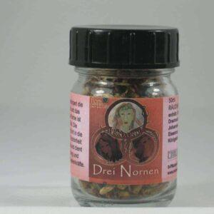 3 Nornen Verdandi Gegenwart 50ml Raeuchermischung Glas