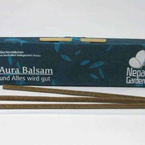 Nepali Garden Räucherstäbchen - Aura Balsam