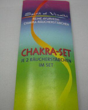 Ayuverdische Räucherstäbchen Chakra Set
