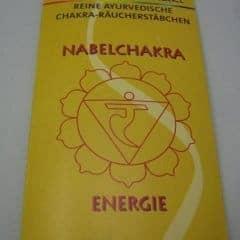 Ayuverdische Räucherstäbchen Nabelchakra Manipura