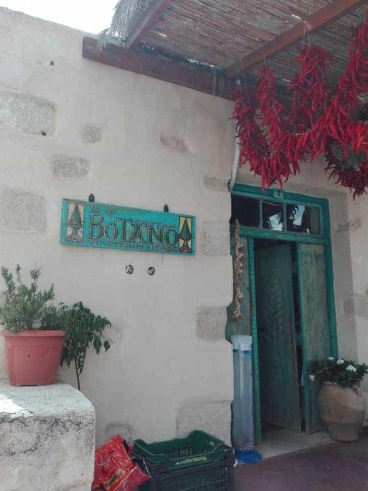 Botano Kräuterladen Griechenland