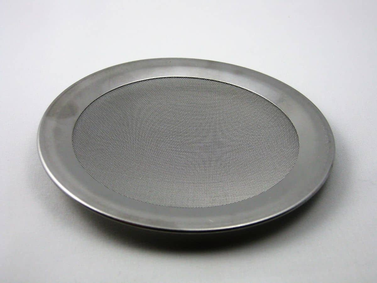 Edelstahlsieb 125mm