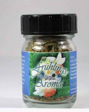 Fruehling Aroma Raeuchermischung 50ml Glas