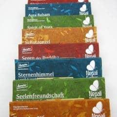 Nepali Garden Räucherstäbchen Produktübersicht