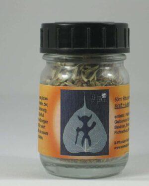 Kraft Lebensmut 50ml Raeuchermischung Glas