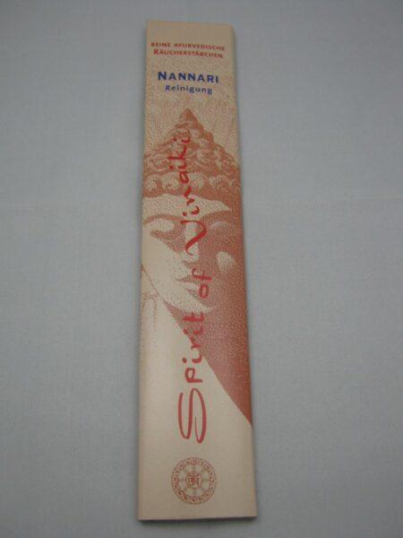 Nannari  Ayuverdische Räucherstäbchen