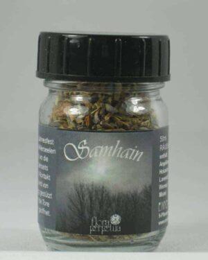 Samhain Allerheiligen Räuchermischung 50ml Glas