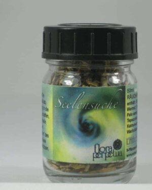 Seelensuche 50ml Gläschen Räuchermischung Glas