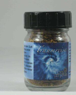 Traumreise 50ml Gläschen Räuchermischung Glas